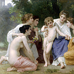 Admiration, Adolphe William Bouguereau