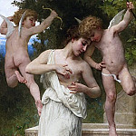 INJURY OF cupid, Adolphe William Bouguereau