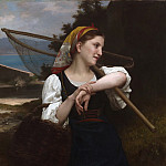 Daughter of Fisherman, Adolphe William Bouguereau