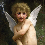 Adolphe William Bouguereau - Overshot Cupid