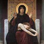 Vierge consolatrice, Adolphe William Bouguereau