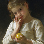 The lemon, Adolphe William Bouguereau