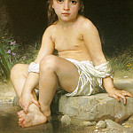 Adolphe William Bouguereau - Child at Bath