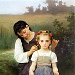Adolphe William Bouguereau - The Jewel of the Fields