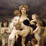 The Motherland, Adolphe William Bouguereau