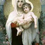 Adolphe William Bouguereau - The Madonna of the Roses