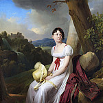 Madame Saint-Ange Chevrier, Louis Leopold Boilly