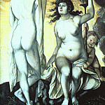Hans Baldung Grien - Sacred and Profane Love