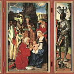 Hans Baldung Grien - Adoration Of The Magi