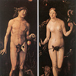 Hans Baldung Grien - Adam And Eve