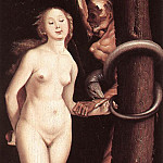 Hans Baldung Grien - Eve, the Serpent and Death