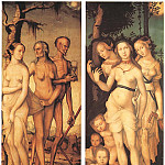 Hans Baldung Grien - Three Ages Of Man And Three Graces