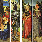 Hans Baldung Grien - Three Kings