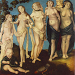 Hans Baldung Grien - The Seven Ages Of Woman