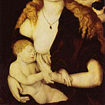 Hans Baldung Grien - virgin-child