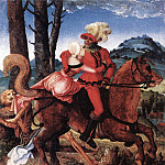 Hans Baldung Grien - The Knight The Young Girl And Death