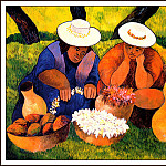 Guy Buffet - Mangos Calabashes And Plumeria
