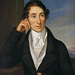 Franz Ludwig Catel - The Composer Carl Maria von Weber