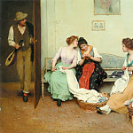 Eugene De Blaas - The Friendly Gossips