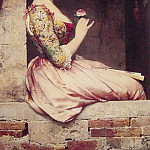 Eugene De Blaas - The Rose