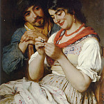 Eugene De Blaas - The Seamstress