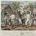 A Cudgelling Match between English and French Negroes on the Island of Dominica