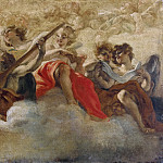 Antonio del Massaro da Viterbo - Angels playing Music