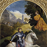 Paris Bordone - Saint George and the Dragon