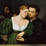 Paris Bordone - Venetian Lovers