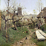 Andreas Achenbach - Spring in Oberweimar