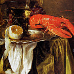 Abraham Van Beijeren - Still with lobster