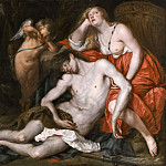 Venus Bewailing the Death of Adonis [Workshop of]