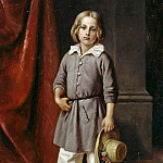 Adolph von Menzel - Karl Begas the Younger as a child