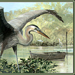 Roger Bansemer - Great Blue Heron 5