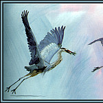 Roger Bansemer - Great Blue Heron 2