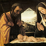 Lorenzo Costa - Nativity