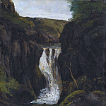 Gustave Courbet - The Cascade
