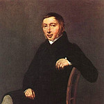 Jean-Baptiste-Camille Corot - PORTRAIT OF LAURENT-DENIS SENNEGON, 1842, OIL ON C(1)