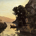 Jean-Baptiste-Camille Corot - View at Riva Italian Tyrol