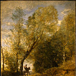 Jean-Baptiste-Camille Corot - The Forest of Coubron, 1872, NG Washington