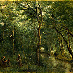 Jean-Baptiste-Camille Corot - The Eel Gatherers, c. 1860-1865, NG Washington