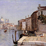Venice View of Campo della Carita from the Dome of the Salute, De Schryver Louis Marie
