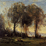 Jean-Baptiste-Camille Corot - Goatherds on the Borromean Islands