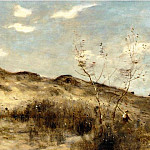 Jean-Baptiste-Camille Corot - A Dune at Dunkirk