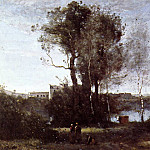 Jean-Baptiste-Camille Corot - Large Sharecropping Farm