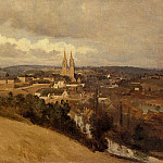 Jean-Baptiste-Camille Corot - View of Saint Lo