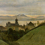 Jean-Baptiste-Camille Corot - Between Lake Geneva and the Alps