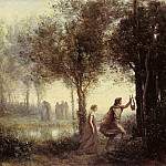 Jean-Baptiste-Camille Corot - Corot_Orpheus_Leading_Eurydice_from_the_Underworld