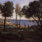 Jean-Baptiste-Camille Corot - View near Naples