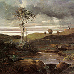 Jean-Baptiste-Camille Corot - The Roman Campagna in Winter
